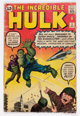 The Incredible Hulk #3 (Marvel, 1962) Condition: GD