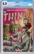 Golden Age (1938-1955):Horror, The Thing! #1 (Charlton, 1952) CGC VG 4.0 Cream to off-whitepages....