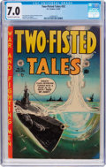 Golden Age (1938-1955):War, Two-Fisted Tales #32 (EC, 1953) CGC FN/VF 7.0 Off-white to whitepages....