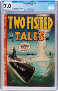 Two-Fisted Tales #32 (EC, 1953) CGC FN/VF 7.0 Off-white to white pages