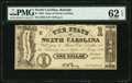 Obsoletes By State:North Carolina, Raleigh, NC- State of North Carolina $1 Sep. 1, 1862. ...