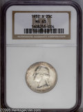 Washington Quarters: , 1932-S 25C MS63 NGC. A beautifully toned example of this key dateWashington quarter, and in a grade that is often quite el...