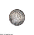 Bust Half Dollars: , 1815/2 50C AU55 NGC. O-101a, R.3. The only dies of the year, thisdie state is the only collectible variant for the special...