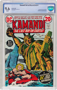 Kamandi, the Last Boy on Earth #1 (DC, 1972) CBCS NM+ 9.6 White pages