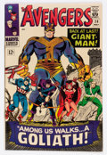 Silver Age (1956-1969):Superhero, The Avengers #28 (Marvel, 1966) Condition: VF-....
