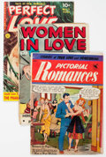 Golden Age (1938-1955):Romance, Golden Age Romance Group of (Various Publishers, 1950s) Condition:Average GD/VG.... (Total: 10 Comic Books)