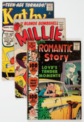 Golden Age (1938-1955):Romance, Golden Age Romance Group of (Various Publishers, 1950s) Condition:Average VG-.... (Total: 10 Comic Books)