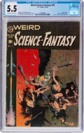 Golden Age (1938-1955):Science Fiction, Weird Science-Fantasy #29 (EC, 1955) CGC FN- 5.5 Off-white to whitepages....