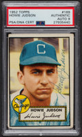 Autographs:Sports Cards, Signed 1952 Topps #169 Howie Judson PSA/DNA Auto Grade Mint 9.. ...