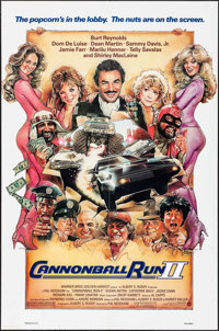 """Cannonball Run II & Others Lot (Warner Brothers, 1984). One Sheets (3) (27"""" X 41""""). Action. ... (Total: 3..."""