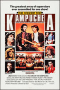 "Movie Posters:Rock and Roll, Concert for Kampughea (Miramax, 1983). One Sheet (27"" X 41""). Rockand Roll.. ..."