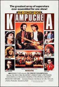 "Concert for Kampughea (Miramax, 1983). One Sheet (27"" X 41""). Rock and Roll"