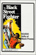 "Movie Posters:Blaxploitation, The Black Street Fighter (New Line, 1976). One Sheet (27"" X 41"").Blaxploitation.. ..."