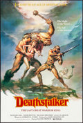 """Movie Posters:Action, Deathstalker & Others Lot (New World, 1983). One Sheets (3)(26"""" X 39.5"""" & 27"""" X 41""""). Action.. ... (Total: 3 Items)"""