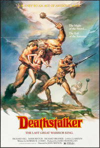 "Deathstalker & Others Lot (New World, 1983). One Sheets (3) (26"" X 39.5"" & 27"" X 41""..."