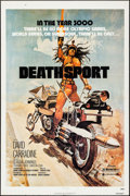 "Movie Posters:Science Fiction, Deathsport (New World, 1978). Folded, Fine/Very Fine. One Sheet (27"" X 41""). Science Fiction.. ..."