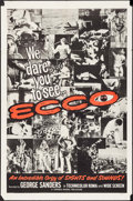 "Movie Posters:Documentary, Ecco (Cresa-Roma, 1965). One Sheets (2) (27"" X 41"") Styles A & B. Documentary.. ... (Total: 2 Items)"