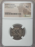 Ancients:Ancient Lots  , Ancients: ANCIENT LOTS. Roman Imperial. Probus (AD 276-282). Lot oftwo (2) BI antoniniani. NGC AU.... (Total: 2 coins)