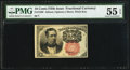 Fractional Currency:Fifth Issue, Fr. 1266 10¢ Fifth Issue PMG About Uncirculated 55 EPQ.. ...