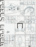 Original Comic Art:Panel Pages, Chris Ware Acme Novelty Library #20 Story Page Jordan LintOriginal Art (Acme Novelty Library, 2010)....