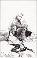 Original Comic Art:Covers, Simon Bisley Hellblazer #295 Cover Original Art (DC/Vertigo, 2012)....