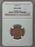 Indian Cents, 1900 1C MS64 Red and Brown NGC. NGC Census: (248/118). PCGS Population: (441/116). MS64. Mintage 66,833,764. ...
