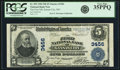 National Bank Notes:Missouri, Kansas City, MO - $5 1902 Plain Back Fr. 599 The First NB Ch. #3456. ...