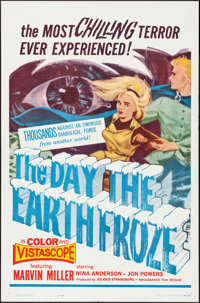 """The Day the Earth Froze (Filmgroup, 1963). One Sheet (27"""" X 41""""). Fantasy"""