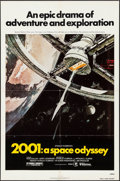 "Movie Posters:Science Fiction, 2001: A Space Odyssey (MGM, R-1980). One Sheet (27"" X 41""). ScienceFiction.. ..."