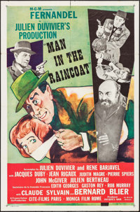 """The Man in the Raincoat (MGM, R-1958). International One Sheet (27"""" X 41""""). Foreign"""