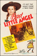 "Movie Posters:Drama, Bad Little Angel & Other Lot (MGM, 1939). Folded, Fine/VeryFine. One Sheets (2) (27"" X 41""). Drama.. ... (Total: 2 Items)"
