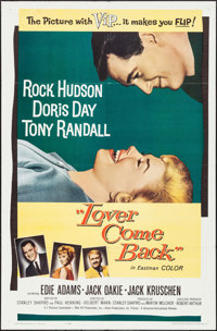 """Lover Come Back (Universal International, 1962). One Sheet (27"""" X 41""""). Comedy"""