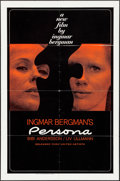 "Movie Posters:Foreign, Persona (Lopert, 1967). One Sheet (27"" X 41""). Foreign.. ..."