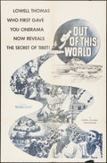 """Movie Posters:Documentary, Out of This World (20th Century Fox, 1954). One Sheet (27"""" X 41""""). Documentary.. ..."""