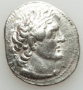 Ancients:Greek, Ancients: PTOLEMAIC EGYPT. Ptolemy II Philadelphus (285-246 BC). ARtetradrachm (14.23 gm).Choice VF, brushed, scratches....