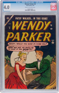 Golden Age (1938-1955):Humor, Wendy Parker Comics #8 (Atlas, 1954) CGC VG 4.0 Cream to off-whitepages....