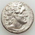 Ancients:Greek, Ancients: PTOLEMAIC EGYPT. Ptolemy VI Philometor (180-145 BC). ARtetradrachm (13.10 gm). About XF, scratches....