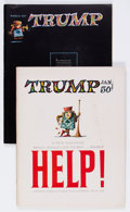 Magazines:Humor, Trump #1 and 2 Complete Series Group (HMH Publishing, 1957).... (Total: 2 Comic Books)