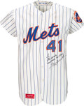 Autographs:Baseballs, 1973 Tom Seaver World Series Game Worn & Signed New York MetsJersey from Cy Young Season.. ...