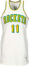 Basketball Collectibles:Uniforms, 1968-69 Elvin Hayes Game Worn San Diego Rockets Rookie Jersey.. ...