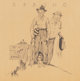 Norman Rockwell (American, 1894-1978) Spring Lithograph 13.5 x 13.125 in. (image) Signed and numbered in lower margi...
