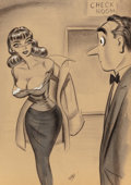 Mainstream Illustration, Bill Ward (American, 1919-1998)Check Your I...