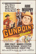 "Movie Posters:Western, Gunpoint & Others Lot (Universal, 1966). One Sheet & Military One Sheets (2) (27"" X 41""). Western.. ... (Total: 3 Items)"