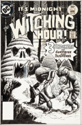 Original Comic Art:Covers, Luis Dominguez The Witching Hour #70 Cover Original Art (DC, 1977)....