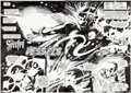 Original Comic Art:Splash Pages, Gene Colan and Steve Mitchell The Spectre #1 Double SplashPages #2 and 3 Original Art (DC, 1987).... (Total: 2 Original Art)
