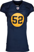Football Collectibles:Uniforms, 2011 Clay Matthews Game Issued Green Bay Packers Throwback Jersey....
