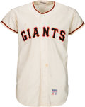 Baseball Collectibles:Uniforms, 1971 Willie Mays Game Worn San Francisco Giants Jersey.. ...