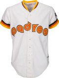 Baseball Collectibles:Uniforms, 1984 Tony Gwynn Game Worn Signed San Diego Padres Jersey. . ...