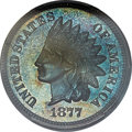 Proof Indian Cents, 1877 1C PR66 Brown PCGS....