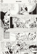 Original Comic Art:Panel Pages, Gil Kane The Atom #19 Page 5 Original Art (DC, 1965)....